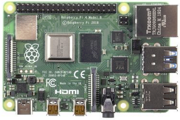 Raspberry Pi 4 Model B, 4 GB